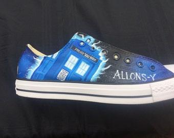 b54d47976271 Custom Doctor Who Converse