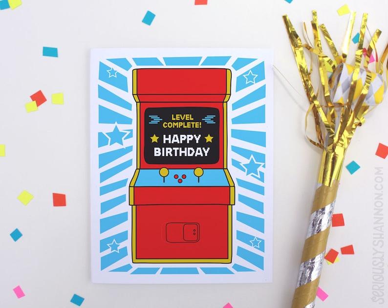 Cool Birthday Card Friend Arcade Game