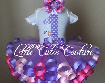 Sofia The First Birthday Outfit Etsy