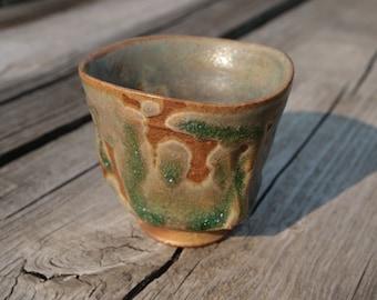Small Tea Cup 'Delta', Yunomi, Guinomi  by Paul Fryman