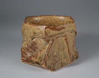 """Espresso cup, Coffee cup, Ash Glazed Yunomi """"Discovery"""" by Mikhail Tovstous. FREE SHIPPING"""
