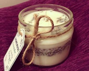 Lavender Handmade Vegan Soy Candle