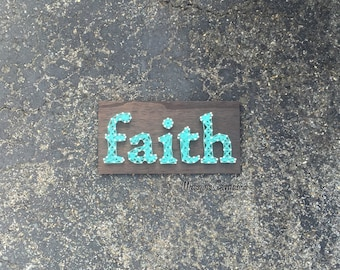 Faith String Art Sign | MADE TO ORDER