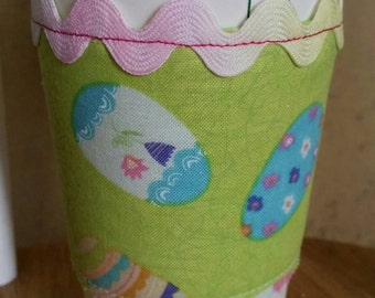 Easter Egg Coffee Cozy