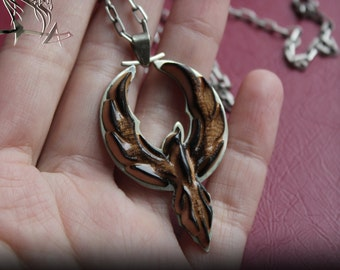 Phoenix pendant | A symbol of immortality | Fantastic jewelry | suspension Jewelry