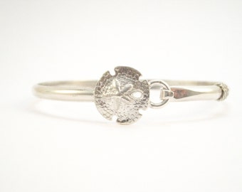 Cape Cod Sanddollar Bracelet- Silver