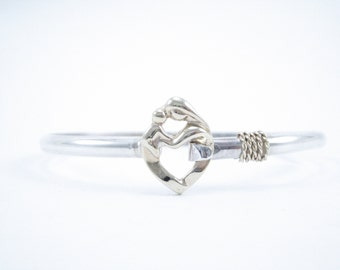 Cape Cod Mother and Child Bracelet- Gold and Silver