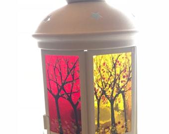 Hurricane candle centre piece