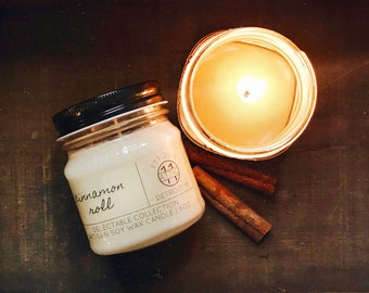 Cinnamon Roll -  Hand Poured Soy Candle