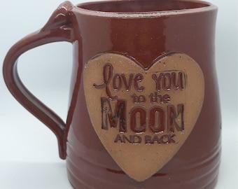 Love You to the Moon and Back Mug