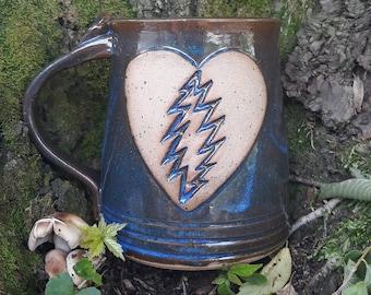 Forever Grateful Mug- Blue