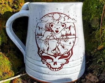 Angler Bear Mug- Collab with Built to Cast- PREORDER