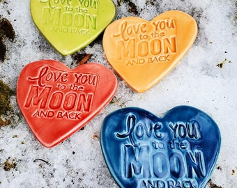 Love You to the Moon and Back Magnets