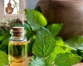 Lemon Balm Herbal Oil 30ml Organic maceration of leaves into Israeli olive oil