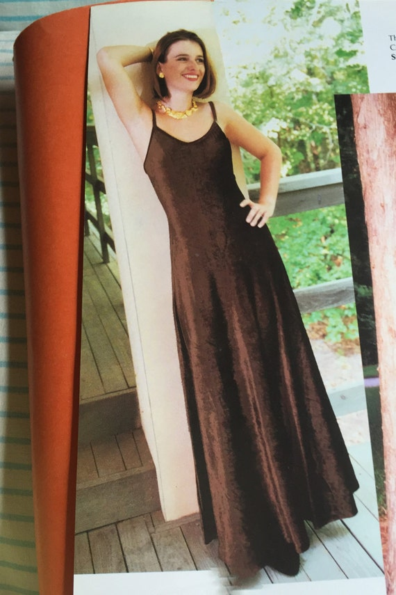 90s Long Velvet Dress Vintage Burgundy Spaghetti Strap Brown Italian Velvet Joanna Trojer Old Stock Maxi Dress With Bra Elegant Evening