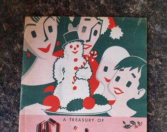 Vintage Christmas Ideas Book by Wisconsin Power and Light Company