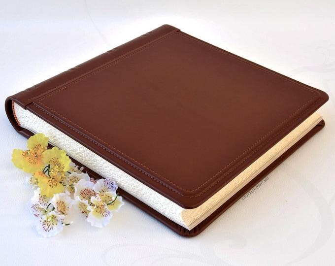 Leather Photo Album Giovelli Design