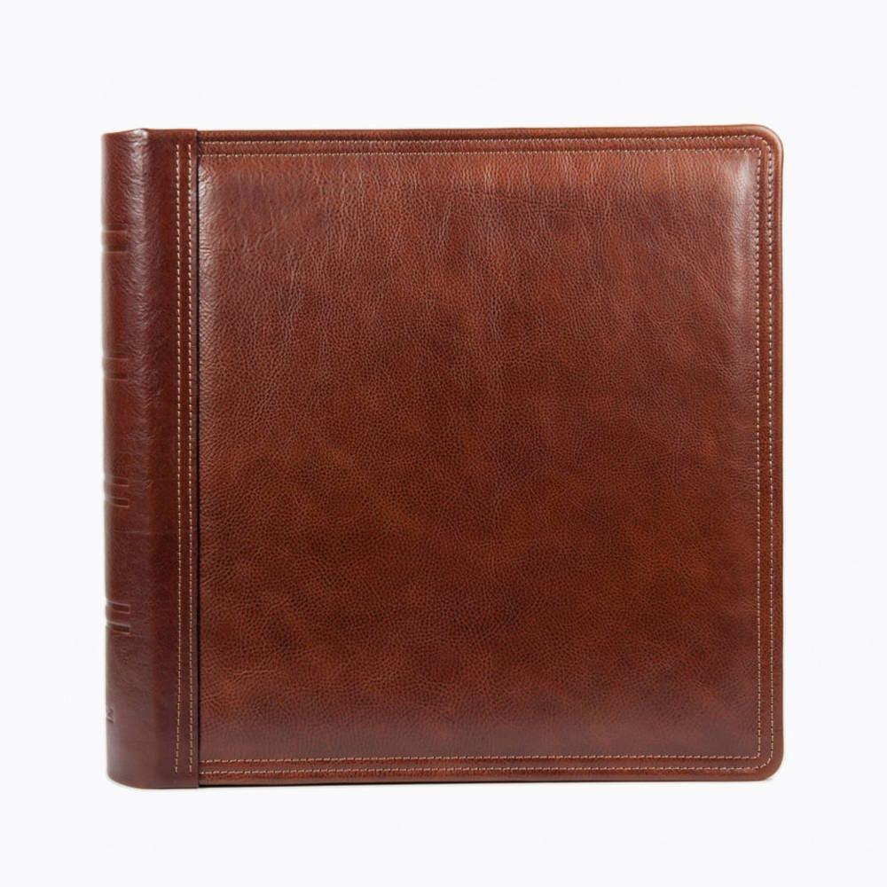 Personalized Photo Album Leather Scrapbook Album