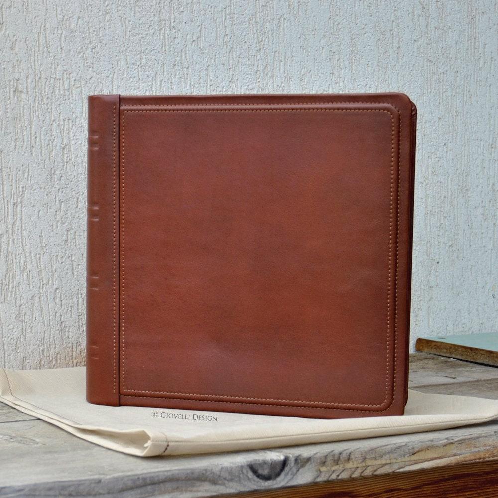 Personalized Traditional Leather Photo Album Luxury Wedding