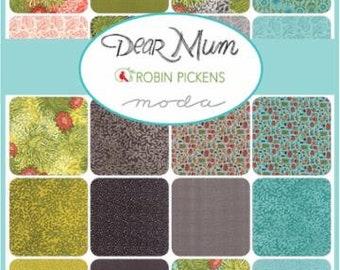 Dear Mum Moda, Moda Dear Mum, Robin Pickens Fabric, Dear Mum by Robin Pickens, 20 Prints.