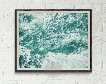 Ocean print, beach print, Ocean Water Print, Coastal Wall Art, Wall Art, Ocean Waves Decor, Coastal, Printable Art, waves print, water art