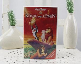 Vintage. Walt Disney The Lion King Videocassette for Video Recorder Language: German