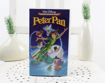 Vintage. Walt Disney  Peter Pan Videocassette for Video Recorder Language: German