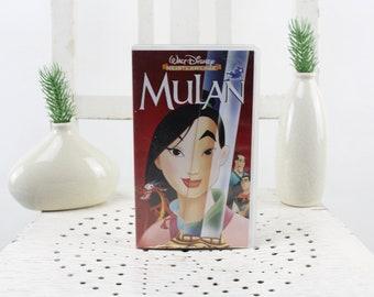 Vintage. Walt DisneyMulan video cassette for video recorder Language: German
