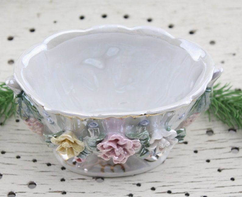 Just 1950s Bowl Anbiet Shell Rockabilly Design Vintage Serving Plate 50s Glass Sale Price 20th Century Antique Furniture