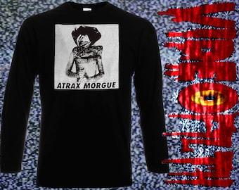 "ATRAX MORGUE ""Mechanic Asphyxia"" Long Sleeve Preshrunk Cotton Shirt"