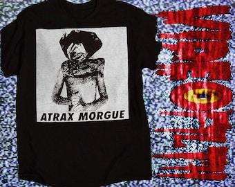 "ATRAX MORGUE ""Mechanic Asphyxia"" Shirt noise merzbow brighter death now NON"