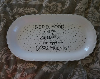Good Friends Serving Tray