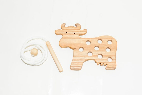 Kids Baby Wooden Wood Animal Puzzle Number Alphabet Learning Educational Toy YDX