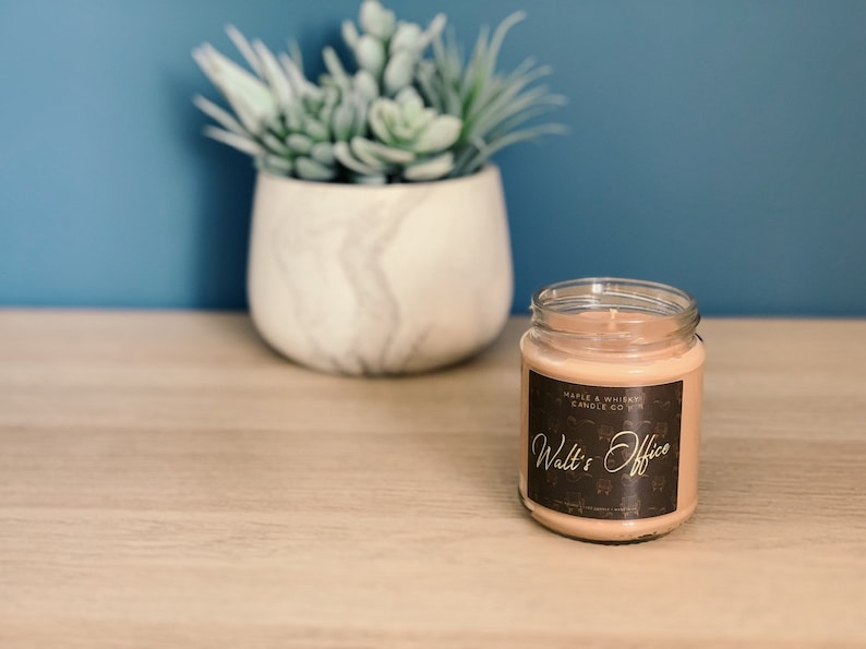 maple & whisky candles
