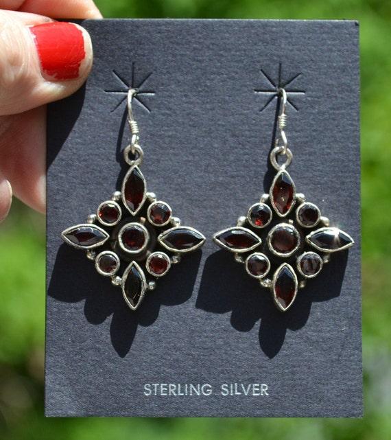 Dainty Chased Teardrop French Hook Sterling Silver Earrings