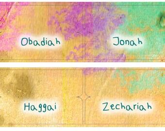 Bible Index Tabs Scripture Journaling Paint Splash Index Tabs Scripture Dividers bible tabs Easter Gift Idea Organizing Lesage 2017BT13
