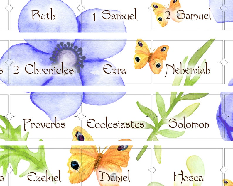Bible Tabs Bible Index Labels Download Bible book labels tabs image 0