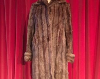 Vintage fur 40s/50s original Coat