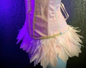 Feathered Corset