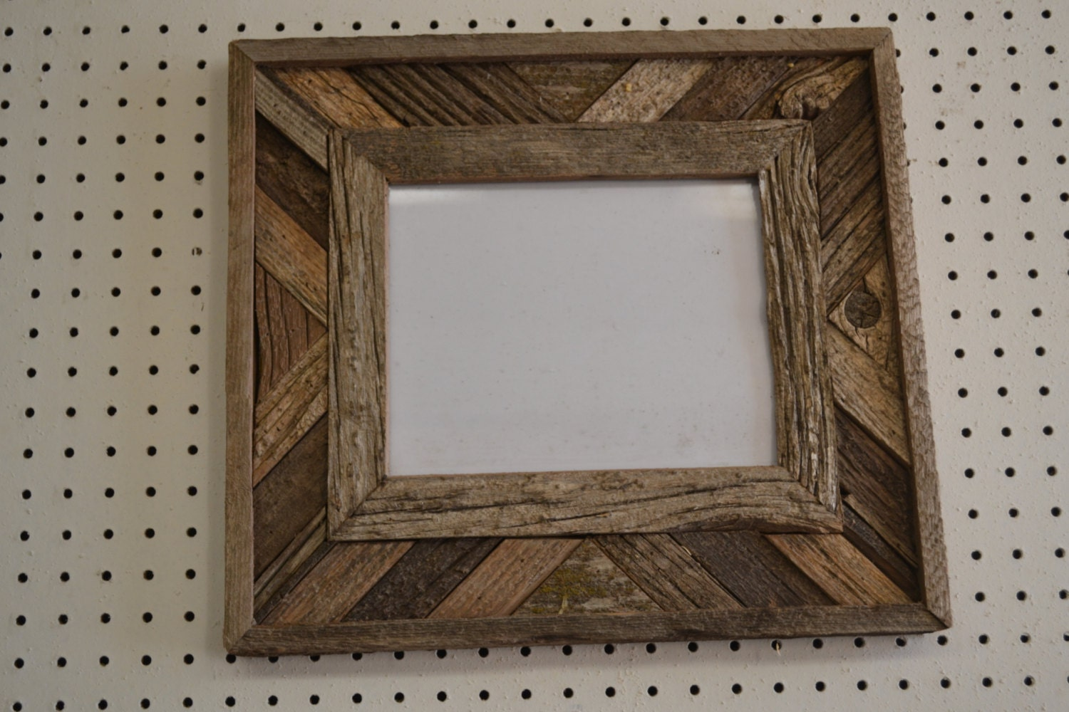 Rustic Barnwood 8 X 10 Fancy Barn Wood Picture Frame Etsy