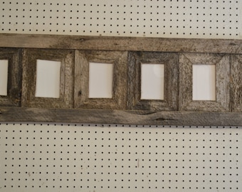 Rustic Barnwood 4 X 6( 6 )Place Collage