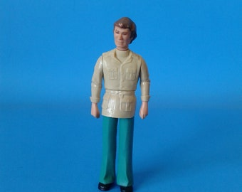 """Fisher Price """" Dollhouse Family Father """" 1970's"""