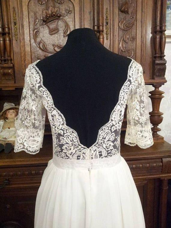 Robe mariee vintage etsy