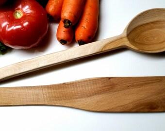 Kitchen Utensils Set, Kitchen Utensils, Cooking Spoon, Wood Cooking Spoon, Wood Spatula, Cooking Spatula, Cooking Set, Serving Spoon