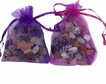 2x xsmall Mixed Tumblestone Bag  (100 gram)