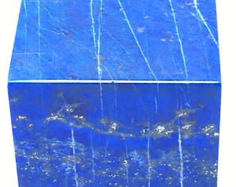 Lapis Lazuli Blue Cube 42mm