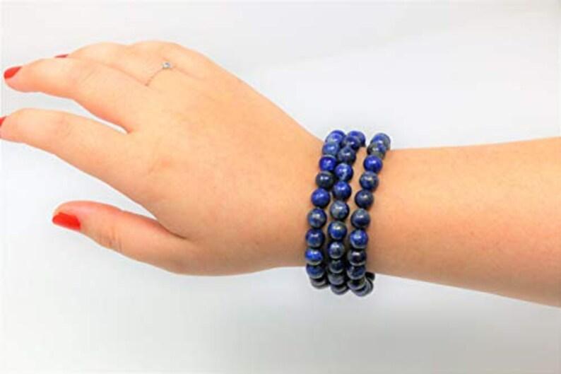 Lapis Lazuli Bracelet 10mm