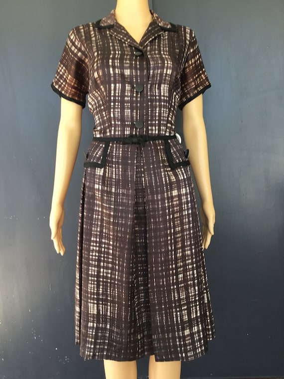 1950s Toni Todd shirtwaist dress