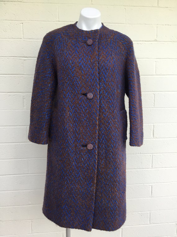 1960s bouclé coat