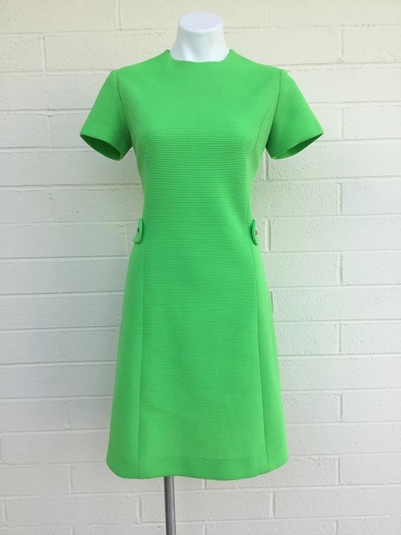 1970s vintage two piece dress